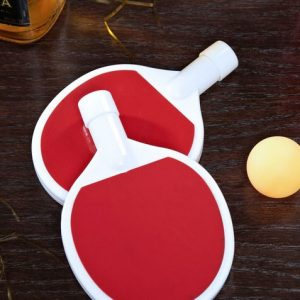 Ping Pong Paddle Flasks