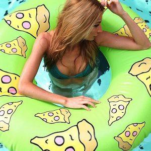 Pizza Slice Inflatable Pool Float