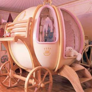 Pumpkin Carriage Bed