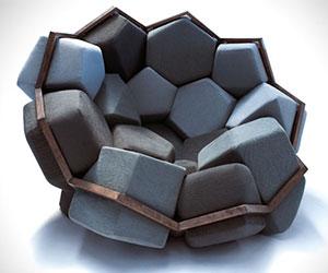 Quartz Armchair