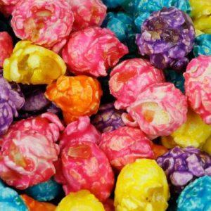 Rainbow Caramel Popcorn