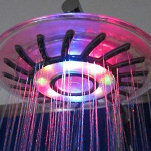Rainbow LED Shower Head