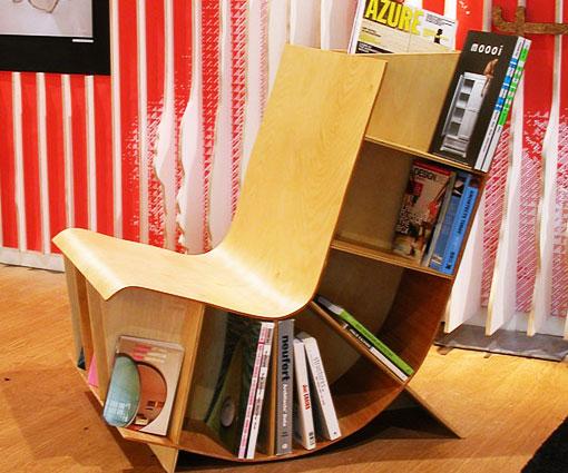 Reading Chair Book Rack Interwebs