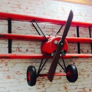 Red Baron Airplane Shelving
