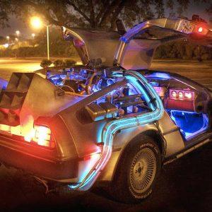 Replica DeLorean Time Machine