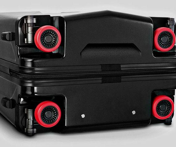 Retractable Wheels Suitcase Interwebs