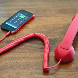 Retro Corded iPhone Handset