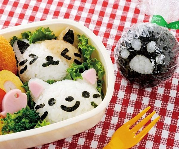 Rice Ball Kitten Mold