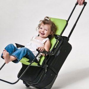 Ride-On Carry-On Suitcase