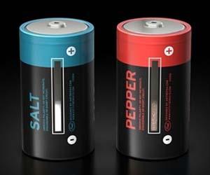 Salt and Pepper Batteries
