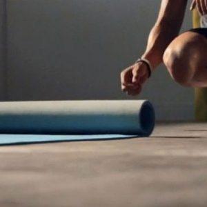 Self Rolling Yoga Mat