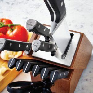 Self-Sharpening Knife Block