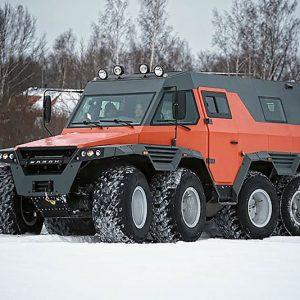 Shaman 8X8 All Terrain Vehicle