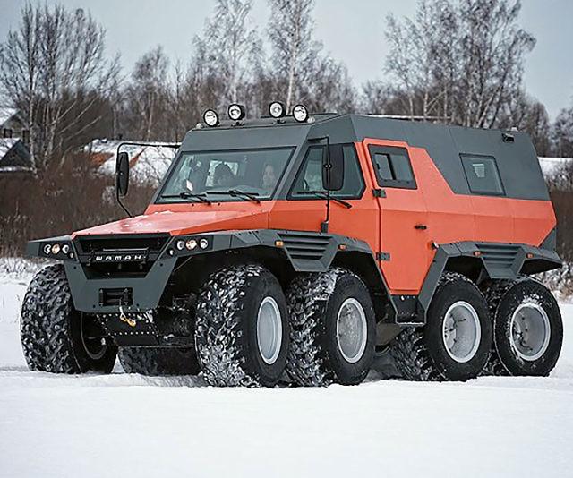 Shaman 8x8 All Terrain Vehicle Interwebs
