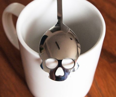 Skull Sugar Spoon