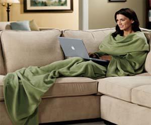 Slanket Sleeved Blanket