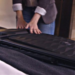 Smart Collapsible Hard Suitcase