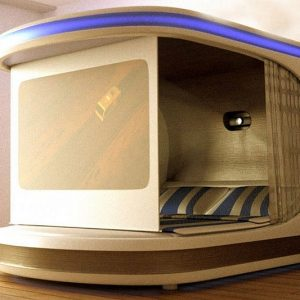 Smart Self-Contained Bedroom Bed