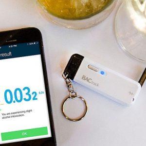 Smartphone Breathalyzer Keychain