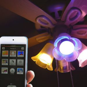 Smartphone Controlled Light Bulbs