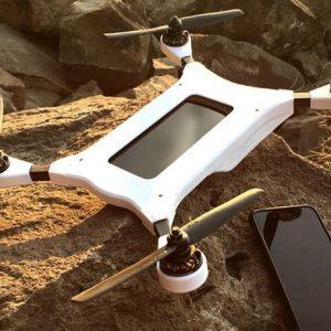 Smartphone Piloted Autonomous Drone