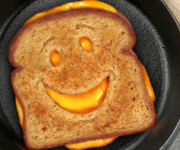 Smiley Face Sandwich Cutter