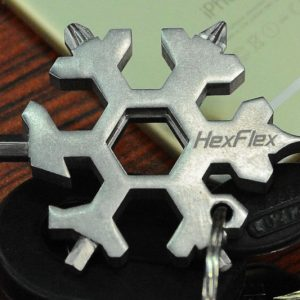 Snowflake Shaped Multi-Tool