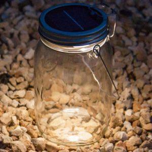 Solar Powered Jar Light