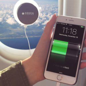 Solar Powered Window Phone Charger
