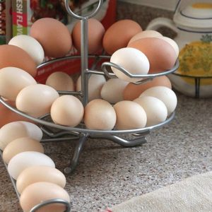 Spiral Egg Rack