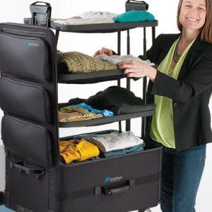 Stand Up Dresser Suitcase