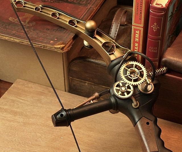 Steampunk Bow Interwebs