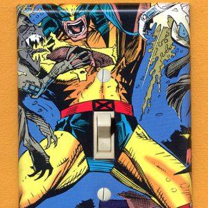 Superhero Light Switch Plates