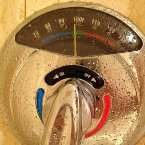 Temperature Gauge Water Valve