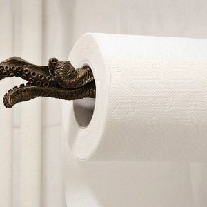 Tentacle Toilet Paper Roll Holder