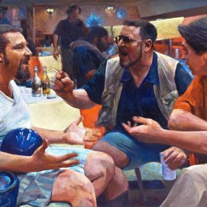 The Big Lebowski Paintings