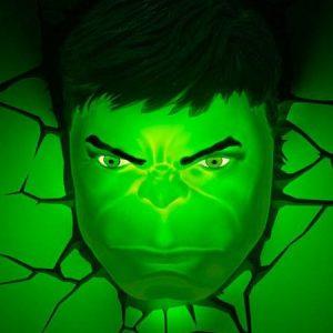 The Hulk 3D Wall Light