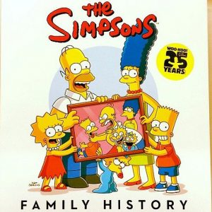 The Simpsons Family History Book