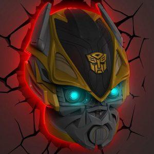 Transformers 3D Wall Night Light