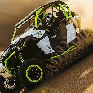 Turbocharged ATV