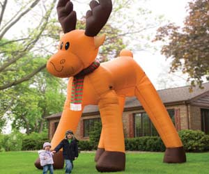Two Story Inflatable Reindeer