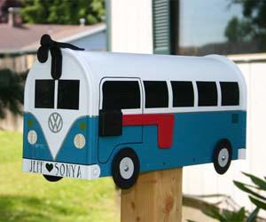 VW Bus Mailbox