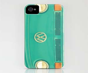 VW Bus iPhone Cover