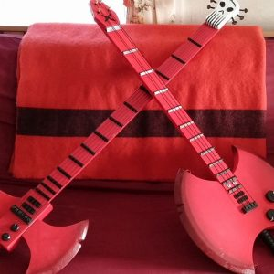 Vampire Queen Bass Axe