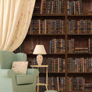 Vintage Library Wall Adhesive