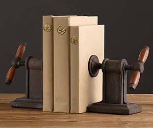 Vise Grip Bookends