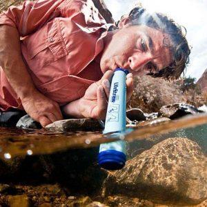 Water Purifying Straw