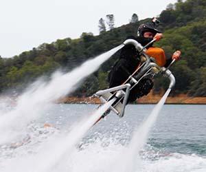 Water Thrusting Jet Bike