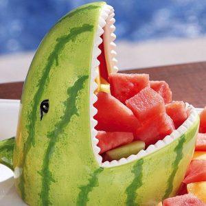 Watermelon Shark Fruit Server