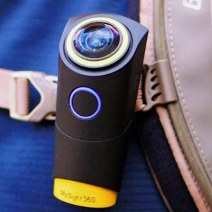 Wearable 360 Degree Action Camera